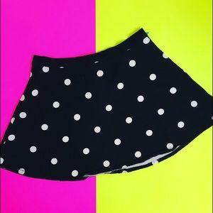 H&M DIVIDED Polka-Dot Skirt